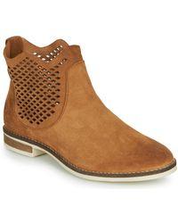 Pataugas Maeva Mid Boots - Brown