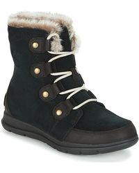 Sorel Explorer Joan Boot - Black