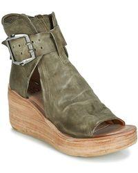 A.s.98 Noa Buckle Sandals - Green