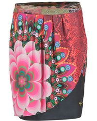 Desigual - Ijinalo Women's Skirt In Multicolour - Lyst