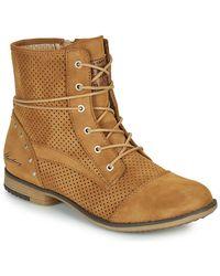 Mustang Hunita Mid Boots - Brown