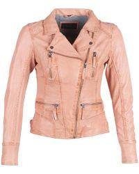 Oakwood Camera Leather Jacket - Pink