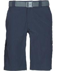 Columbia Silver Ridge Ii Cargo Short Shorts - Blue