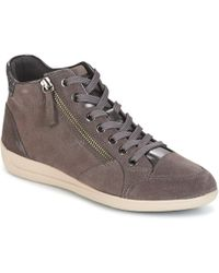 Geox | D Myria Shoes (high-top Trainers) | Lyst