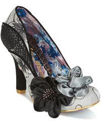 Irregular Choice Peach Melba Women's Court Shoes In Grey