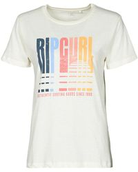 Rip Curl Golden State Standard Tee T Shirt - White