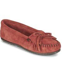 Minnetonka - Kilty Loafers / Casual Shoes - Lyst