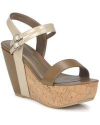 Chinese Laundry Go Getter Sandals - Natural