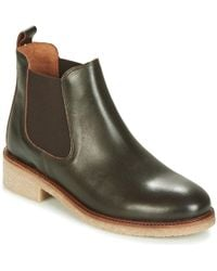 Bensimon Boots Crepe Mid Boots - Green