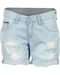 Hilfiger Denim | Boyfriend Short Alcde Women's Shorts In Blue | Lyst