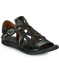 A.s.98 Ramos Perf Sandals - Black