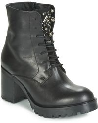 Tosca Blu Kate Low Ankle Boots - Black