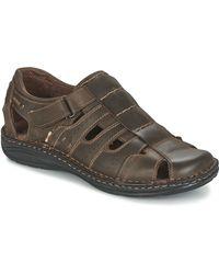 Casual Attitude Zirondel Sandals - Brown