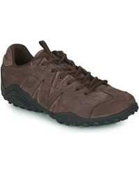 Merrell Sprnt V Lthr Shoes (trainers) - Brown