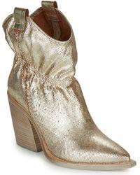 FRU.IT Lovite Low Ankle Boots - Metallic