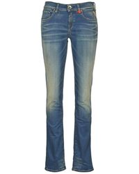 Replay Vicki Hyperflex Bootcut Jeans - Blue