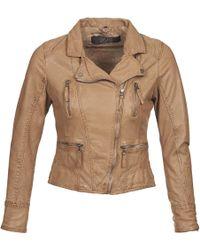 Oakwood Camera Women's Leather Jacket In Brown