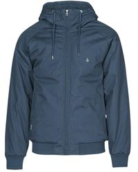 Volcom Hernan 5k Jacket Jacket - Blue