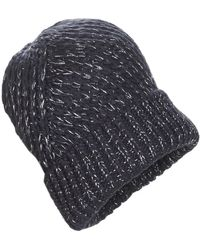 André Andes Beanie - Blue