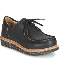 El Naturalista Pizarra Women's Casual Shoes In Black