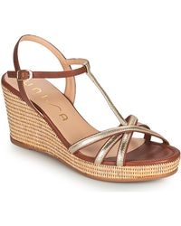 Unisa Llinar Sandals - Metallic