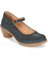 El Naturalista Aqua Court Shoes - Black
