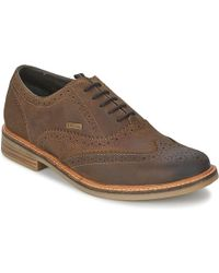 Barbour - Redcar Oxford Brogue Casual Shoes - Lyst