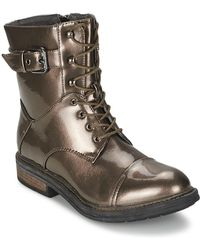 Les P'tites Bombes - Stone Mid Boots - Lyst