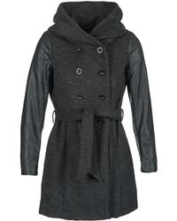 ONLY - Mary Lisa Women's Coat In Grey - Lyst