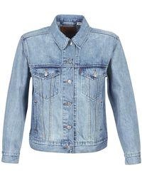Levi's Ex-boyfriend Trucker Denim Jacket - Blue