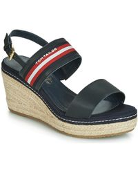 Tom Tailor - 6990701-navy Sandals - Lyst