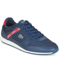 17e36c3df Lacoste L.andsailing Piq Boat Shoe Trainers - For Men in Blue for ...