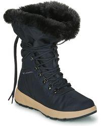 Columbia Slopeside Village Omni Heat Hi Snow Boots - Black