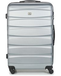David Jones Chauvettini 107l Hard Suitcase - Grey