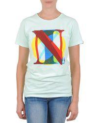 Nixon Pacific Women's T Shirt In Green