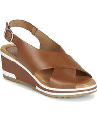 Kickers Wing Sandals - Brown
