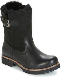 Blackstone Ol05 Women's Mid Boots In Black
