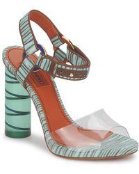 Missoni Tm63 Sandals - Blue