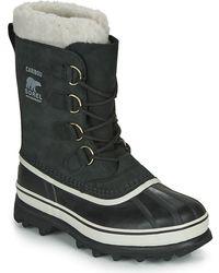 Sorel Caribou Snow Boots - Black