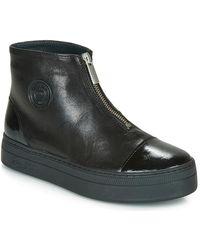 Pataugas Valentina Women's Mid Boots In Black