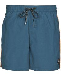 Quiksilver Beach Please Trunks / Swim Shorts - Blue