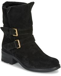 André Majolie Mid Boots - Black
