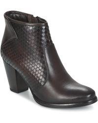 Tamaris - Pregolia Low Ankle Boots - Lyst