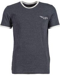 Teddy Smith The-tee Men's T Shirt In Grey