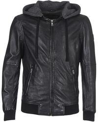 Oakwood Jimmy Leather Jacket - Black