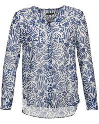 Marc O'polo - Fabia Women's Blouse In Blue - Lyst