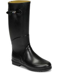 Aigle Chantebelle Wellington Boots - Black