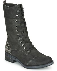 Mustang 1293519 Mid Boots - Grey