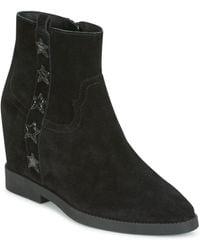 Ash Goldie Mid Boots - Black