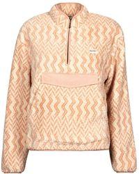 Rip Curl Drifter Polar Fleece Fleece Jacket - Pink